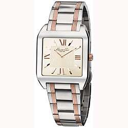 Cole Womens Stainless Steel Rose Gold Bracelet Watch
