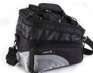 15L Cycling Bicycle Bag Bike rear seat bag pannier waterproof free
