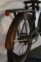 Schwinn Deluxe Hornet balloon tire bicycle bike black red springer