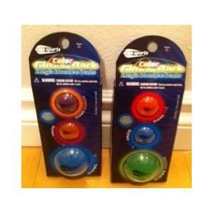 in the Dark Mega Bounce Balls By Oglo Sports (Pack of 3) Toys & Games