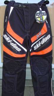 SKI DOO X TEAM WARNERT RACING SNO X PANTS NEW MEDIUM