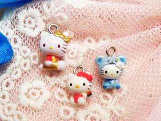 12 Hello Kitty Pendant / Charm (40H) APD0483 wholesale