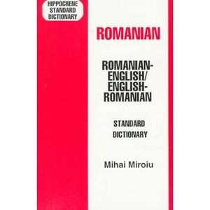 English English/Romanian Standard Dictionary, Miroiu, Mihai Textbooks