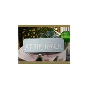 LIFE IS GOOD AT THE BEACH COASTAL SIGN 14   RUSTIC