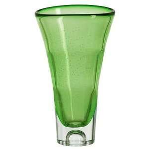 Kosta Boda Sound Green Glass Vase
