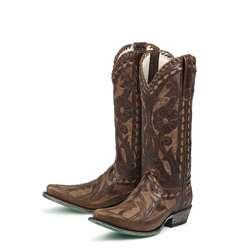 Lane Boots Womens Brown/ Tan Poison Cowboy Boots