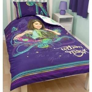 Disney Wizards of Waverly Place Magic Panel Single Bed