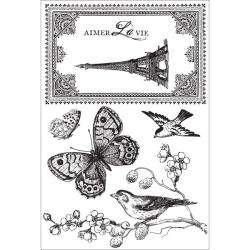 Kaisercraft Bonjour Clear Stamps