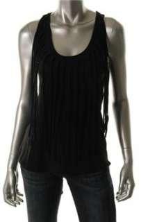 FAMOUS CATALOG Casual Shirt Black BHFO Sale Misses M