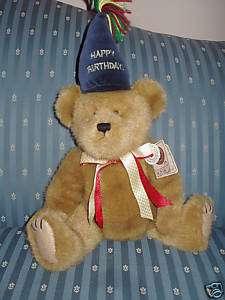 BOYDS HAPPY BEARWISH BIRTHDAY BEAR 18 1 800 FLOWERS