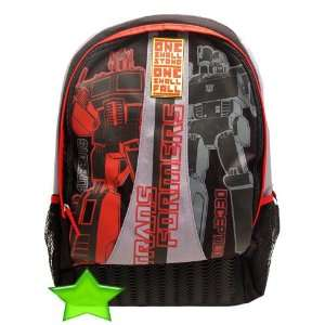 Transformers Rivals Backpack Optimus Prime Bumblebee Toys