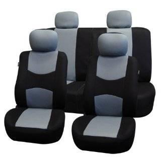FH FB050114 Univerisal Car Seat Cover Full Set Fb050 Gray/black