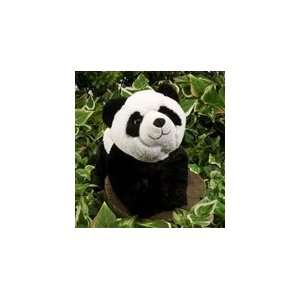 Stuffed Panda Bear 7 Inch Plush Hugems by Wild Republic