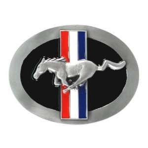 Official Tri Bar FORD MUSTANG Belt Buckle by siskiyou