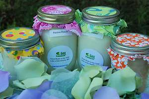 WEDDING DAY Scented 16oz Soy Wax Jar Candle  LARGE Floral *Yankee