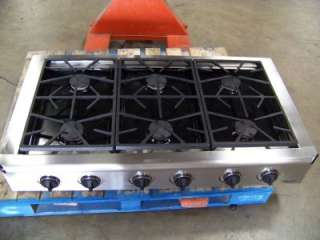 STAINLESS STEEL PROFESSIONAL GAS COOKTOP ESG486S @ 52%OFF MSRP