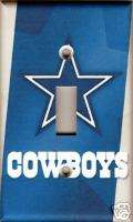 Dallas Cowboys Single Light Switch Plate Cover