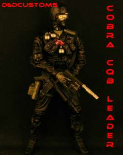 CUSTOM GI JOE MCFARLANE MILITARY SPECIAL FORCES CQB