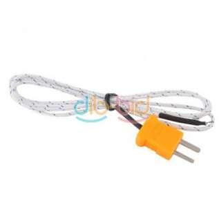 902C Digital LCD K Type Thermometer Single Input + Thermocouple Probe