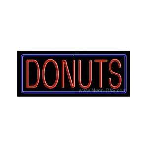 Donuts Neon Sign 13 x 32 Home Improvement