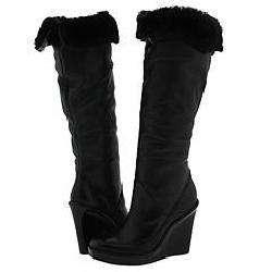 KORS Michael Kors Altitude Black Soft Tumbled Calf Boots