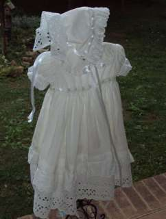 Reborn Baby Christening /Baptism Homecoming Gown Vtg Inspired Custom