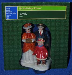 Holiday Time~Christmas Village~Blue Water~Family~NEW