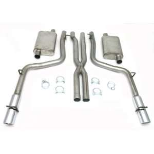 Steel Exhaust System for Dodge Charger/Magnum/300C 05 10 Automotive