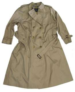 Burberry Authentic Ladies Trench Coat size 22 long