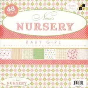 Nanas Nursery Baby Girl Paper Stack 12X12 48 Sh