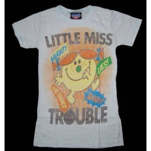 Junk Food Here Comes Little Miss Trouble Girly T Shirt In