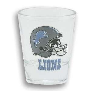 Detroit Lions Helmet Shot Glass