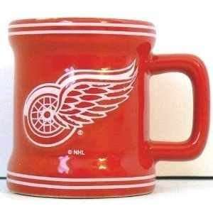 Detroit Redwings Ceramic Shot Glasses (Set of 2) Sports