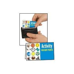 Wallet Card / Pocket Guide Activity For Busy People