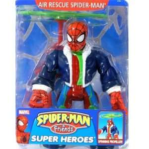 Man and Friends Air Rescue Spider Man 6 Action Figure Toys & Games