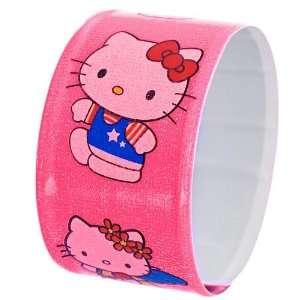 Hello Kitty Slap Bracelet   Pink Arts, Crafts & Sewing