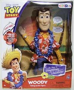 WOODY  HAWAIIAN  Toy Story Talking Figure TRU 2011