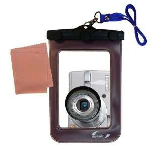 Gomadic Clean n Dry Waterproof Camera Case for the Panasonic