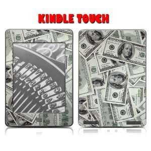 Kindle Touch Skins Kit   Benjamins Ballers $$ Hundred Dollar Bills