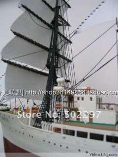 100 Nippon Maru Japanese sail boat model kit
