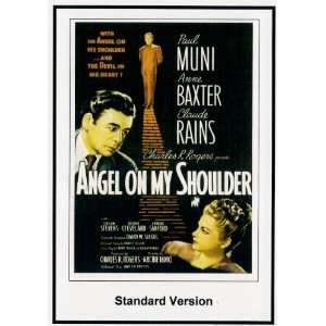Angel On My Shoulder Paul Muni, Anne Baxter, Claude Rains