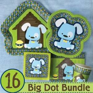 Boy Puppy Dog Birthday Party Supplies & Ideas   16 Big Dot