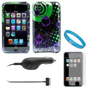 Piece Rubberized Crystal Hard Case Cover for Apple iPod Touch