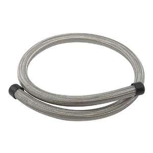 Stainless Steel Braided Hose 4 Feet Uses 12AN Fitting Automotive