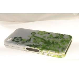 Apple iPhone 4 Hard Case Cover for Green Vines Everything