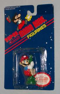 vintage Nintendo SUPER MARIO BROS. FIGURINE with card #4