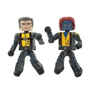 Marvel Minimates XMen First Class Exclusive Mini Figure 2Pack Magneto