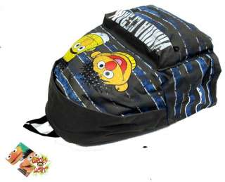 Sesame Street Bert and Erni Ernie Backpack Rucksack School Bag BIG A4