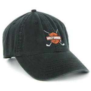 Harley Davidson Golf Cap   Black