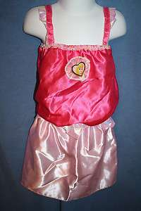 Disney Lillian Vernon PRINCESS Dress Up PINK Aurora TOP SKIRT 4 6X